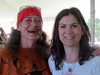 Shari Ralish and Herbalist Sunsun Weed