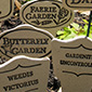 GArden Sings and Garden Markers
